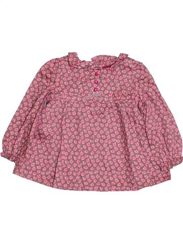 Blouse manches longues fille MONSOON rose 3 ans hiver #1430770_1