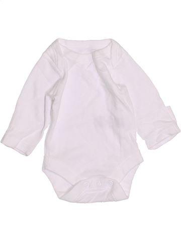 Camiseta de manga larga unisex MARKS & SPENCER blanco 0 meses invierno #1430906_1