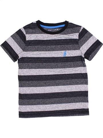 T-shirt manches courtes garçon NUTMEG gris 8 ans été #1430918_1