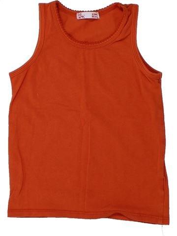 Camiseta sin mangas niña DPAM rojo 2 años verano #1430921_1
