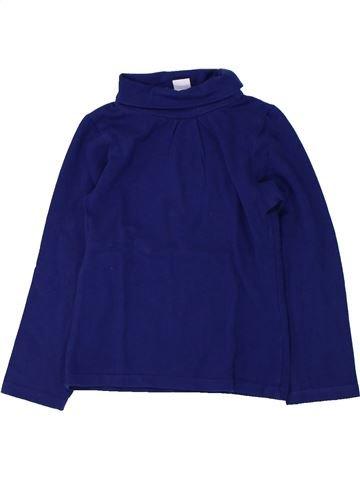 T-shirt col roulé fille LH BY LA HALLE bleu 3 ans hiver #1430956_1