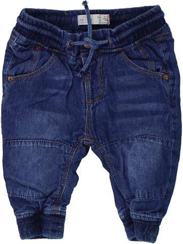 Pantalon garçon ZARA bleu 6 mois hiver #1431031_1