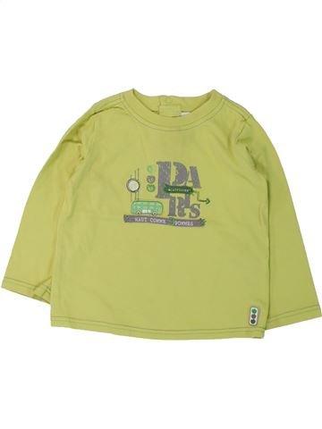 T-shirt manches longues garçon SERGENT MAJOR vert 2 ans hiver #1431040_1