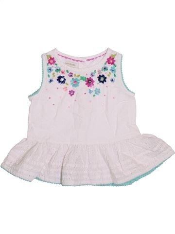 Blusa de manga corta niña MONSOON blanco 3 años verano #1431079_1
