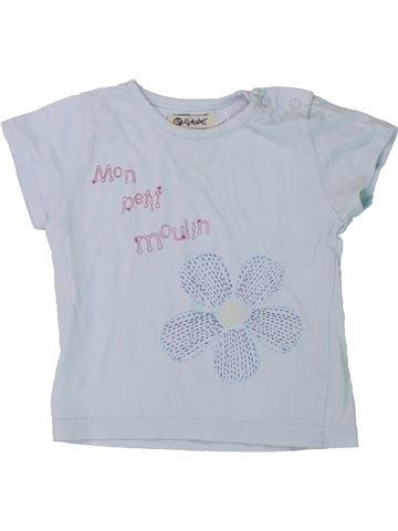 Camiseta de manga corta niña ALPHABET gris 2 años verano #1431407_1