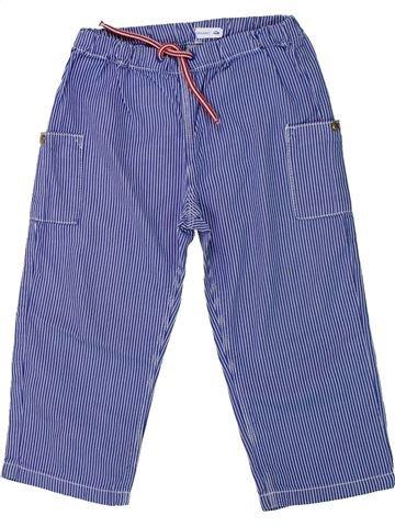 Pantalon garçon PETIT BATEAU bleu 3 ans été #1431427_1
