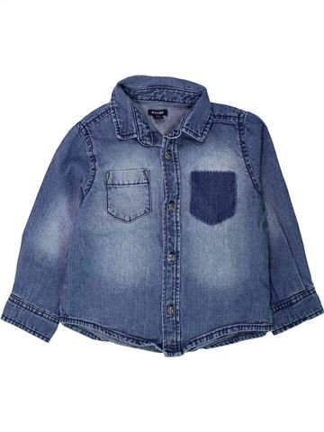 Chemise manches longues garçon KIABI bleu 3 ans hiver #1431456_1