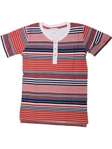 T-shirt manches courtes garçon PUMPKIN PATCH marron 7 ans été #1431594_1