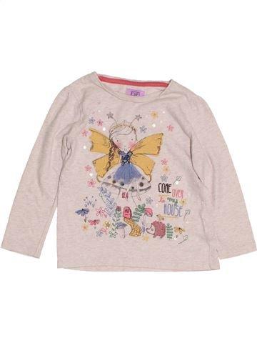 T-shirt manches longues fille F&F violet 2 ans hiver #1431616_1