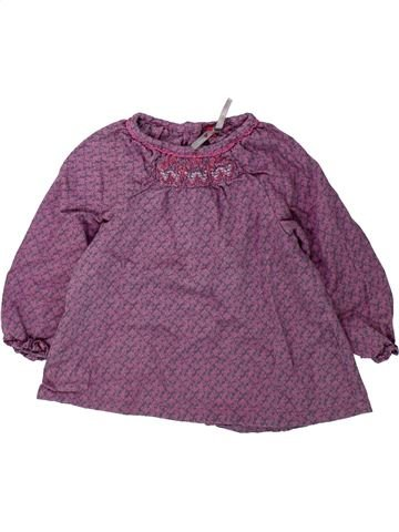 Blusa de manga larga niña ORCHESTRA violeta 12 meses invierno #1431742_1