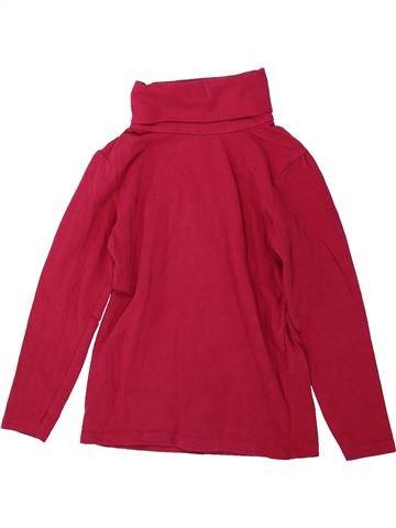 Camiseta de cuello alto niña DPAM rojo 6 años invierno #1431862_1