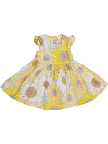Vestido niña BLUEZOO beige 12 meses verano #1431941_1