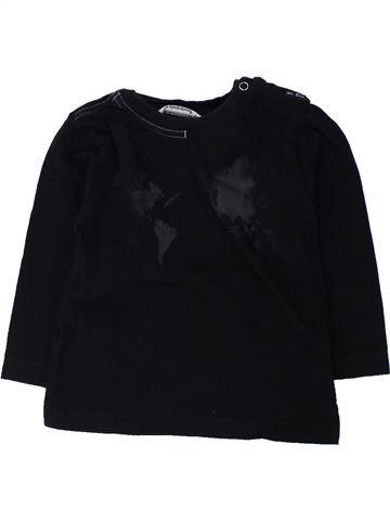 Camiseta de manga larga niño 3 POMMES negro 18 meses invierno #1431990_1