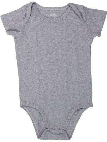 T-shirt manches courtes fille KIABI gris 2 ans été #1432089_1