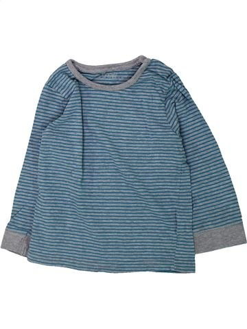 T-shirt manches longues garçon KIABI bleu 3 ans hiver #1432112_1