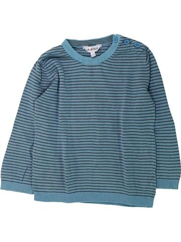T-shirt manches longues garçon KIABI bleu 3 ans hiver #1432118_1