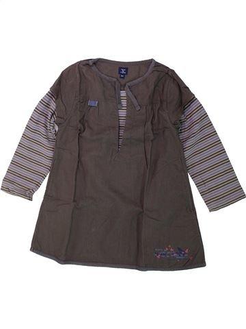 Robe fille TERRE DE MARINS gris 4 ans hiver #1432141_1