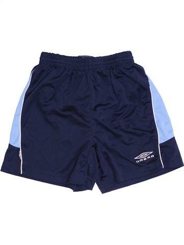 Pantalon corto deportivos niño UMBRO azul 11 años verano #1432239_1