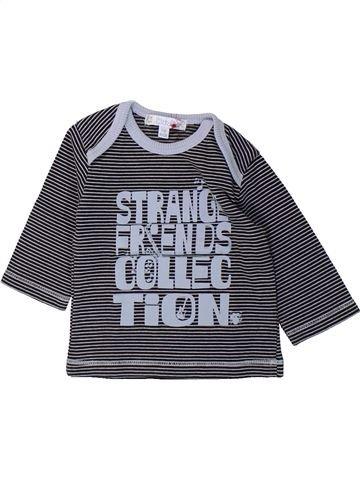 T-shirt manches longues garçon KIABI gris 3 mois hiver #1432316_1