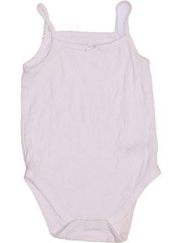 T-shirt sans manches fille NUTMEG blanc 2 ans été #1432387_1