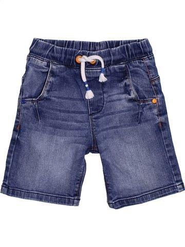Short - Bermuda garçon F&F bleu 5 ans été #1432500_1