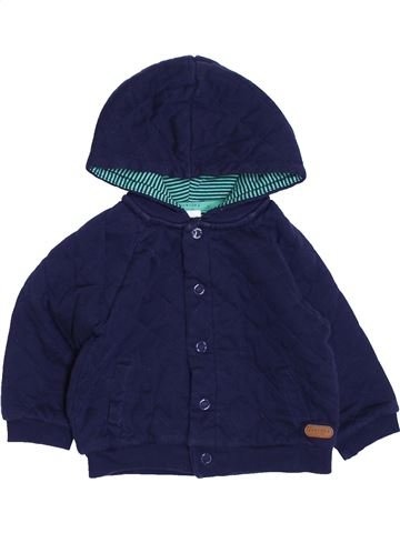 Sweat garçon JASPER CONRAN bleu 12 mois hiver #1432883_1