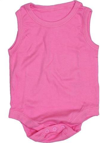 T-shirt manches courtes fille MATALAN rose 9 mois été #1432922_1