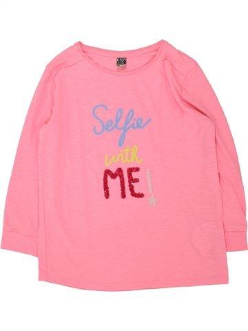 T-shirt manches longues fille TAPE À L'OEIL rose 14 ans hiver #1432983_1