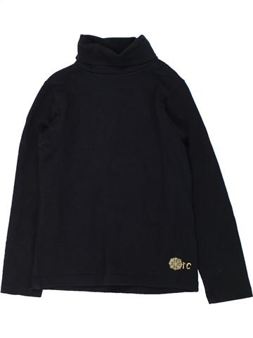 Camiseta de cuello alto niña ORCHESTRA negro 6 años invierno #1433020_1