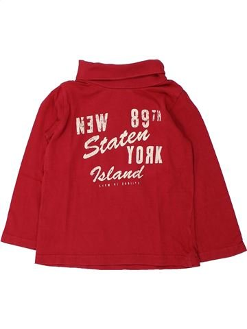 Camiseta de cuello alto niño TAPE À L'OEIL rojo 4 años invierno #1433139_1