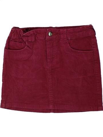 Falda niña DPAM rojo 8 años invierno #1433388_1