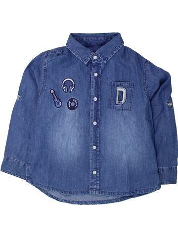 Camisa de manga larga niño DPAM azul 4 años invierno #1433518_1
