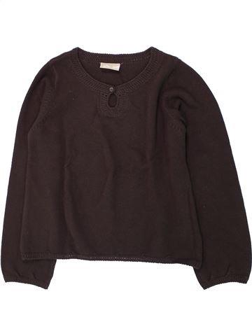 jersey niña DPAM marrón 10 años invierno #1433540_1