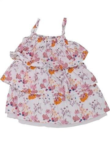Robe fille OKAIDI rose 3 mois été #1433631_1