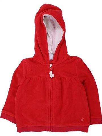 Chaleco niña PETIT BATEAU rojo 18 meses invierno #1433677_1