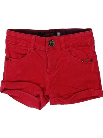 Short-Bermudas niña CATIMINI rojo 5 años invierno #1433723_1