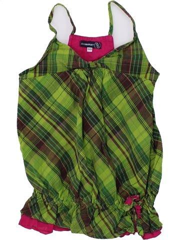 Blusa de manga corta niña JEAN BOURGET verde 10 años verano #1433732_1