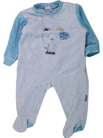 Pijama de 1 pieza niño ABSORBA azul 9 meses invierno #1433796_1
