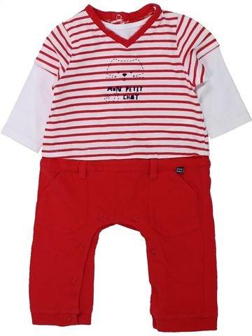 Combinación larga niño SUCRE D'ORGE rojo 6 meses invierno #1433937_1