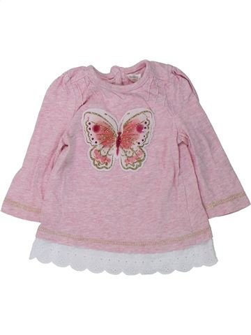 Camiseta de manga larga niña M&CO gris 3 meses invierno #1434057_1