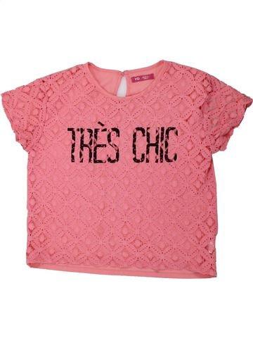 Camiseta de manga corta niña PRIMARK rosa 13 años verano #1434133_1
