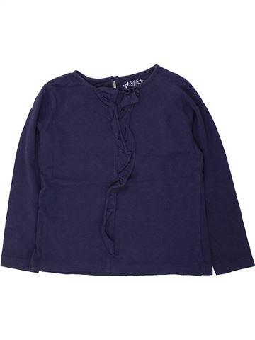 T-shirt manches longues fille CFK bleu 3 ans hiver #1434593_1