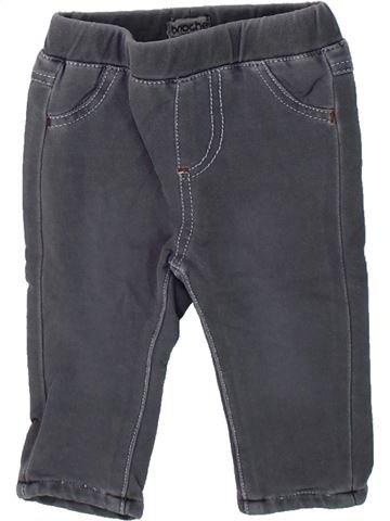 Pantalón niño BRIOCHE gris 3 meses invierno #1435130_1
