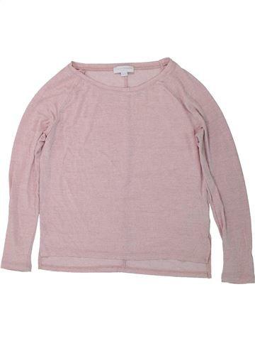T-shirt manches longues fille CHARLES VÖGELE gris 12 ans hiver #1435260_1