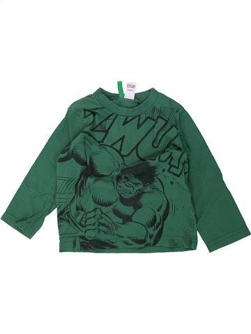 T-shirt manches longues garçon BENETTON vert 2 ans hiver #1435739_1