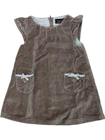 Vestido niña TOUT COMPTE FAIT gris 6 meses invierno #1435837_1