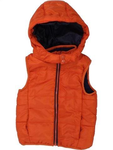 Doudoune garçon ORCHESTRA orange 9 mois été #1436232_1