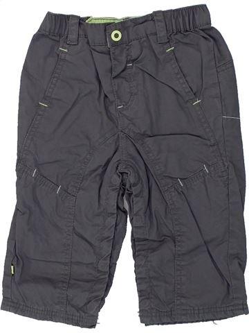 Pantalon garçon OKAIDI gris 6 mois hiver #1437824_1