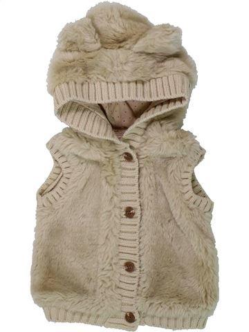 Chaleco niña MAYORAL beige 9 meses invierno #1437866_1