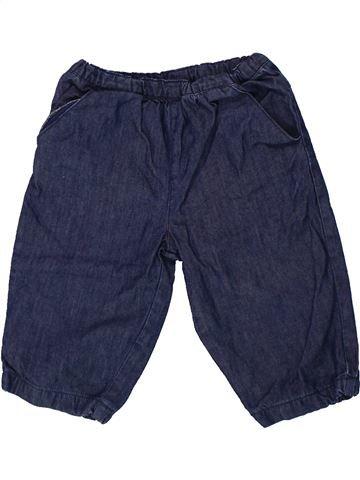 Pantalón niña BOUT'CHOU azul 9 meses invierno #1437942_1